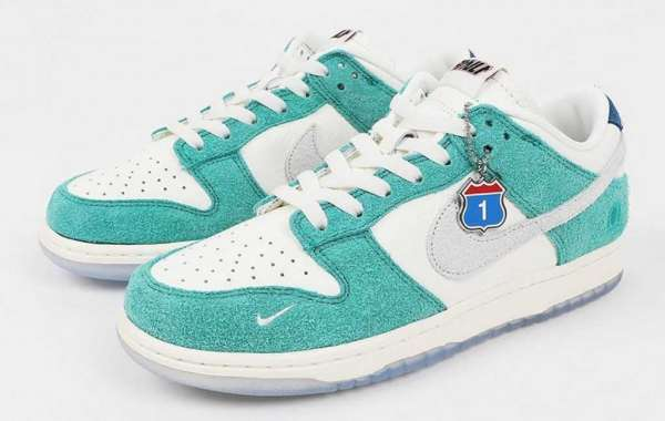 "CZ6501-101 Kasina x Nike Dunk Low ""Neptune Green"" to release on September 18, 2020"