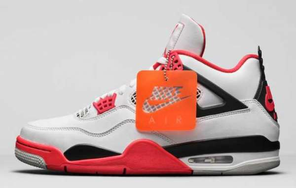 "Debut again after 8 years! White Red AJ4 ""Fire Red"" DC5382-100 has been released!"