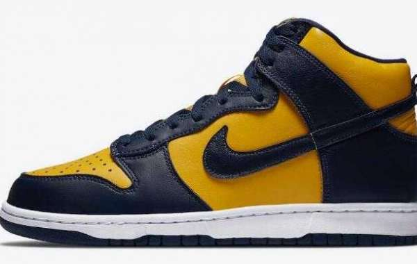 Where to Buy New Nike Dunk High Michigan  ?