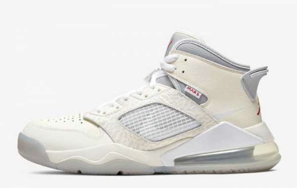 Ct3445-100 SNS x Jordan Mars 270 Sail/White-Pure Platinum-Wolf Grey For Sale