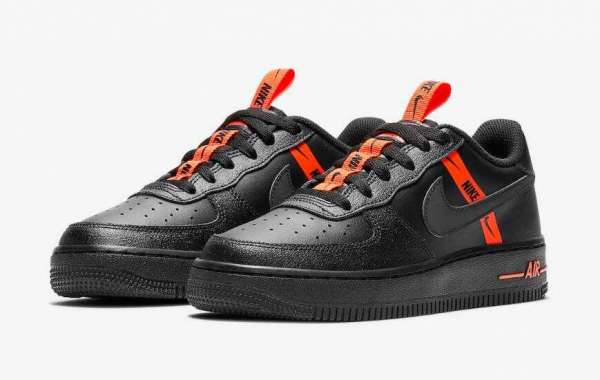 2020 Nike Air Force 1 Low Black Halloween Vibes Coming Soon