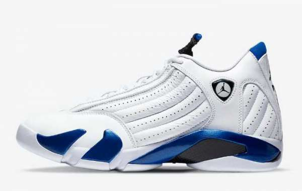 "The new Air Jordan 14 ""Hyper Royal"" will be officially released on September 19"