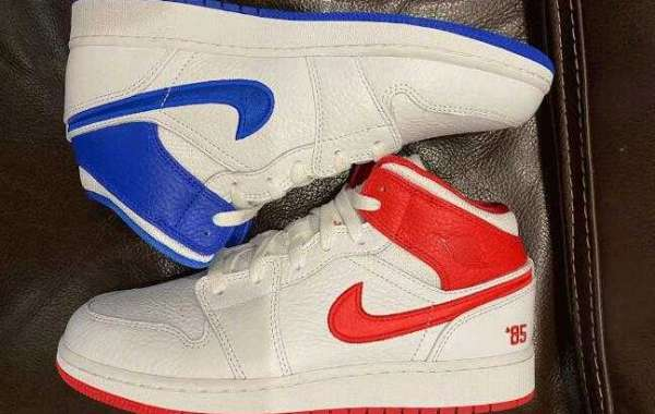 Air Jordan 1 Mid 85 All Star White Red Blue Release for Black Friday