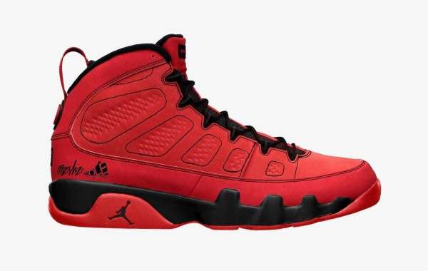 "2021 Latest Air Jordan 9 ""Chile Red"" CT8019-600 Releasing During Fall"