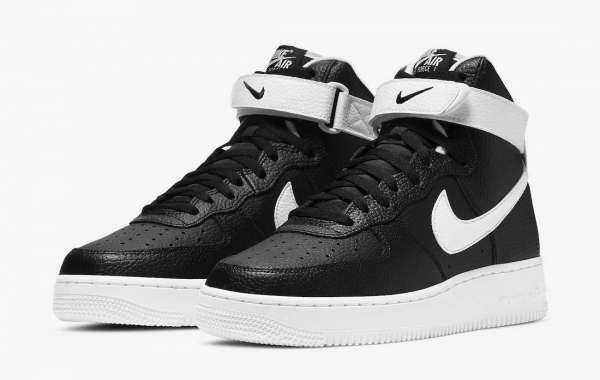 "Brand New Nike Air Force 1 High ""Black/White"" CT2303-002"