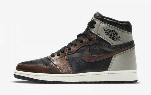 """555088-033 Air Jordan 1 High OG """"Patina"""" will be officially launched on March 13th"""
