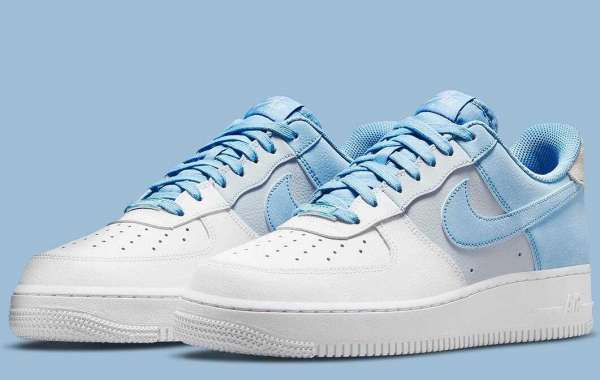 Nike Air Force 1 Low Psychic Blue CZ0337-400 to Release this Month