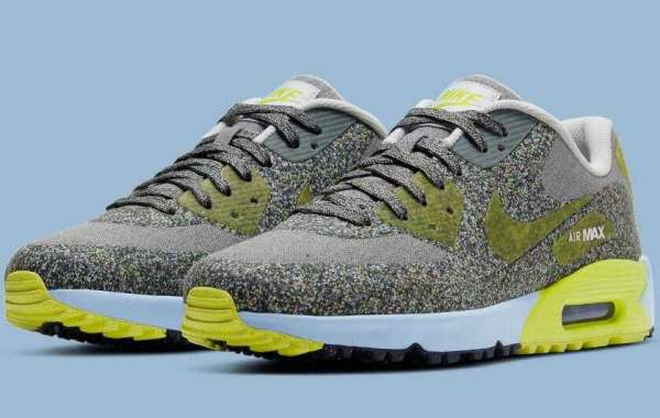 2021 Nike Air Max 90 Golf Shoe Get Covered In Grind Rubber