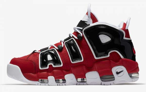 "Nike Air More Uptempo ""Hoop Pack"" Basketball Shoe 921948-600"