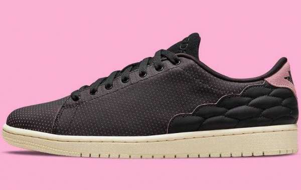 2021 Air Jordan 1 Centre Court With Perforated Leather Ready For Summer