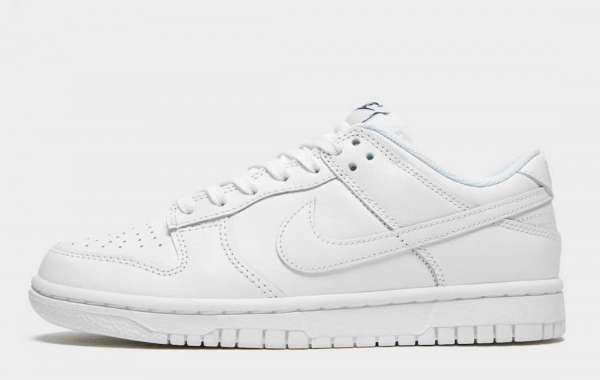 """Hot Sale Nike Dunk Low """"Triple White"""" Shoes For Summer"""